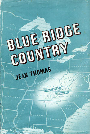 American Folkways series - Cover of Blue Ridge Country