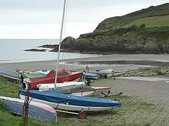Pwllgwaelod - Pwllgwaelod beach