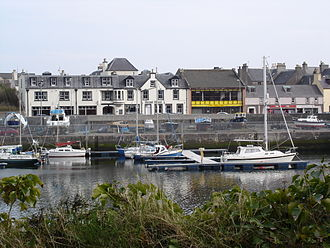 Stornoway - Boats in Stornoway harbour