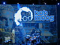 Bob Moog tribute blue stage, NEARfest Apocalypse 2012.jpg
