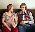 Bob Morse with wife 1975.jpg