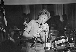 Bob Wilber at the North Sea Jazz Festival in the late 1970s