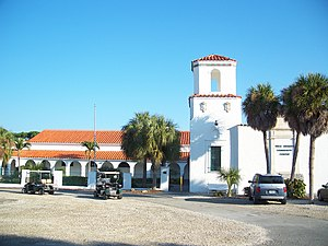 National Register of Historic Places listings in Lee County, Florida - Image: Boca Grande FL comm center 01