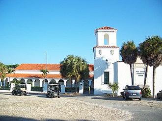 National Register of Historic Places listings in Lee County, Florida - Image: Boca Grande FL comm center 01