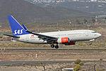 Boeing 737-783(w) 'LN-RRA' SAS Scandinavian Airlines (24788059111).jpg