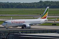 ET-AQO - B738 - Ethiopian Airlines