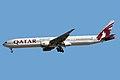 Boeing 777-3DZER Qatar Airways A7-BAJ (8447966482).jpg