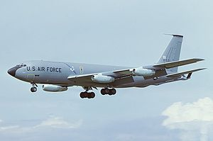 4158th Strategic Wing - Boeing KC-135A Stratotanker in Strategic Air Command markings