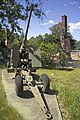 Bofors 40 mm anti-aircraft gun located on the front of the Canberra Services Club site (1).jpg