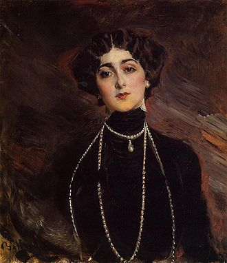 Lina Cavalieri - Lina Cavalieri, as painted by Giovanni Boldini