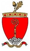 Official seal of Boldogkőújfalu