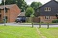 Bollards on Allen Water Drive - geograph.org.uk - 1462479.jpg