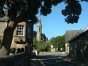 Bolton-le-Sands - Image: Bolton le Sands village geograph.org.uk 28377