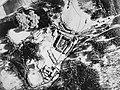 Bomb exploding near the Berghof on 25 April 1945.jpg