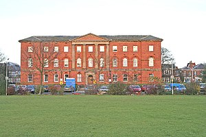 Bootham Park Hospital - Frontage of Bootham Park Hospital as seen from Bootham.
