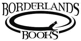 Borderlands Books - Image: Borderlands Books B&W Logo