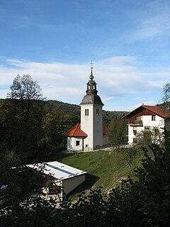 Borje pri Mlinšah Place in Upper Carniola, Slovenia