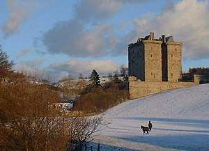 Lord Borthwick - Borthwick Castle, the ancient seat of the Borthwick family.