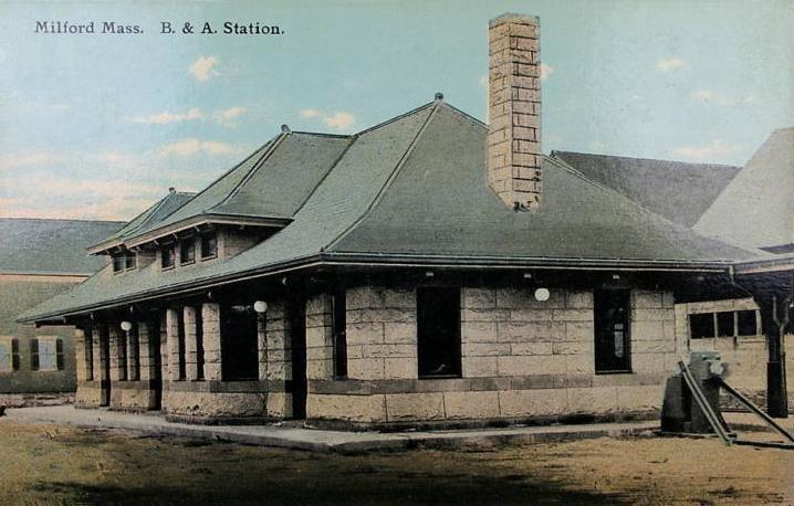 Boston & Albany Station, Milford, MA