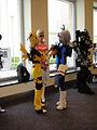 BotCon 2011 - Transformers cosplay - Adjusting Soundwave's Deck (5802061053).jpg