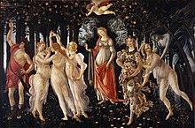 Botticelli, la Primavera, 1482 ca.