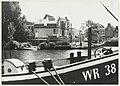 Bouw woningen aan de Vissersbocht, ziende vanaf het Dopnkere Spaarne naar het zuiden. NL-HlmNHA 54031871.JPG