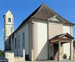 Bouxwiller (Haut-Rhin), Église Saint-Jacques-le-Majeur.jpg