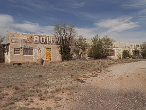 National Register of Historic Places listings in Cibola County, New Mexico - Image: Bowlins Old Crater Trading Post