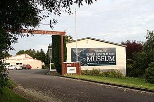 Brooklands, Taranaki - Image: Bowls museum