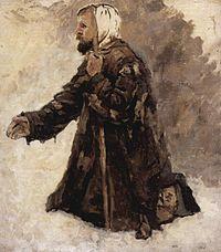 Boyaryna Morozova by V.Surikov - sketch 02 (Russian museum).jpg