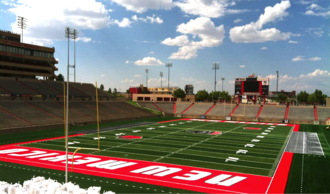 Dreamstyle Stadium - Image: Branch Field at University Stadium