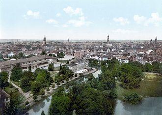 Braunschweig - Braunschweig around 1900.