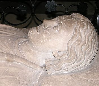Heinrich's tomb in Brunswick Cathedral