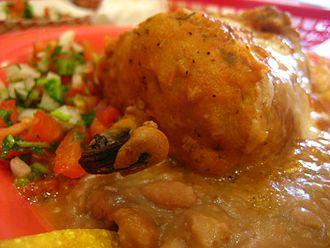 Chile relleno - Image: Breaded Chile Rellenos