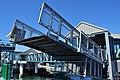 Bremerton ferry terminal - lowering the gangway onto the ferry 01.jpg