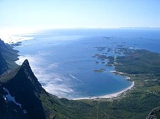 Vestfjorden - Image: Brennviksanden