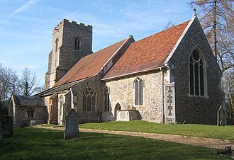 Brent Eleigh - Image: Brent Eleigh Church of St Mary