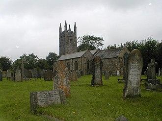 Grade II* listed buildings in West Devon - Image: Bridestowe church geograph.org.uk 765333