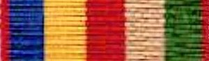 Second China War Medal - Image: British China Medal Ribbon 1857 60 Proposed ribbon