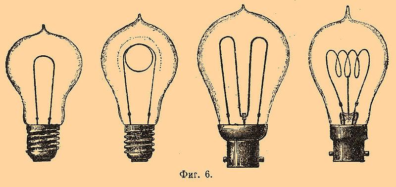 una altra importante invenzione la lampadina