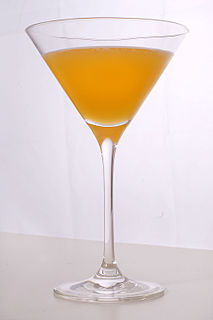 Bronx (cocktail) Drink of gin, orange juice, and vermouth