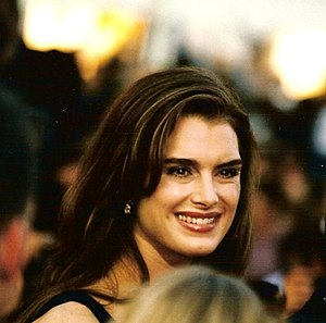 Brooke Shields - Shields at the 1998 Cannes Film Festival