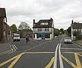 Brookley Road A337 junction, Brockenhurst - geograph.org.uk - 170766.jpg