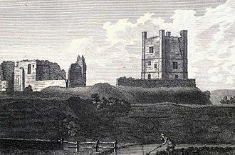Brough Castle - Brough Castle, 1775