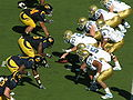 Bruins on offense at UCLA at Cal 10-25-08 09.JPG