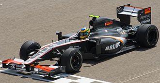 Hispania F110 - Image: Bruno Senna 2010 Bahrain (cropped)