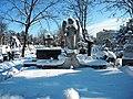 Bucuresti, Romania, Cimitirul Bellu Catolic (Ingerul in iarna 2015) (6) B-IV-a-B-20118.JPG