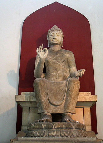 OK gesture - Buddha statue in Thailand depicting the gesture as Vitarka Mudrā