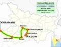 Budhpurnima Express (Varanasi - Rajgir) route map.png
