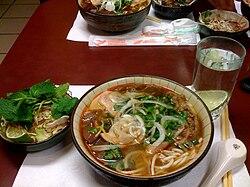Bun Bo Hue - Spicy Vietnamese Noodle Soup